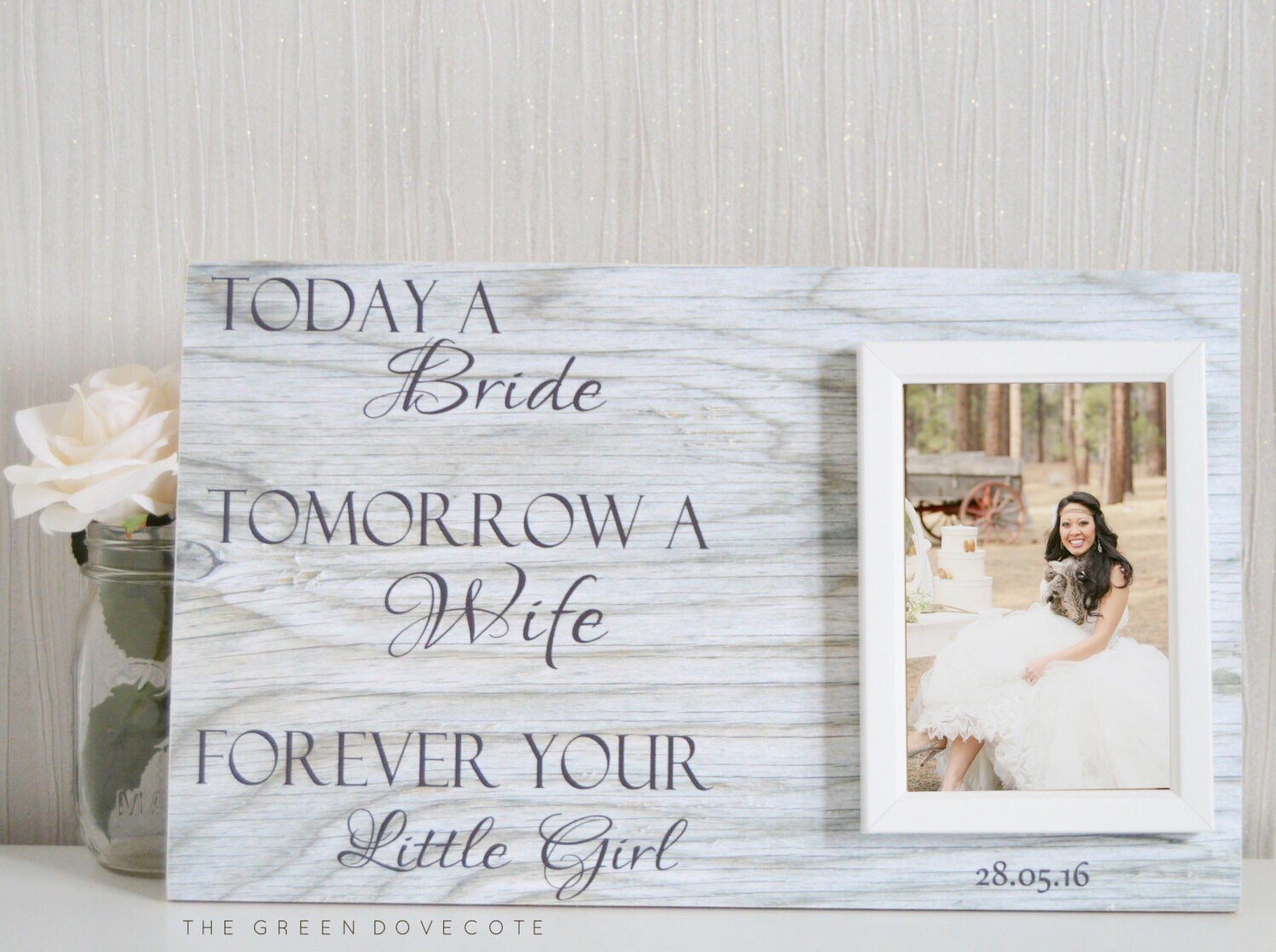 Mother Of The Bride Gift Wedding Gift For by TheGreenDovecote