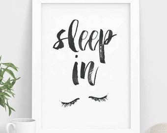 typographic print quote print wall decor the by angiesprints