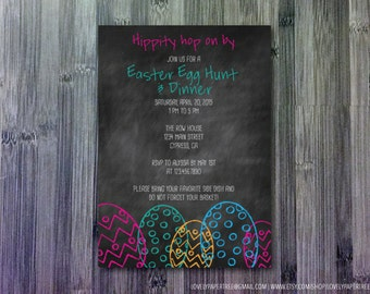 Easter Egg Invitation (HP_EAS_INV1)