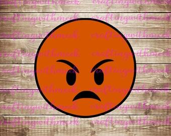Angry Emoji SVG
