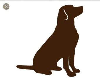 Puppy Dog Lab SVG Cut File