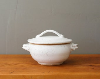 Made to Order ** Yunnan Steampot in Buttermilk White. Wheel-thrown ceramic stoneware rice cooker, steamer, pottery
