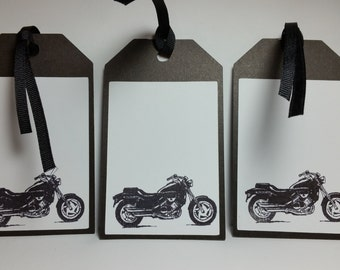 Motorcycle Tags A137