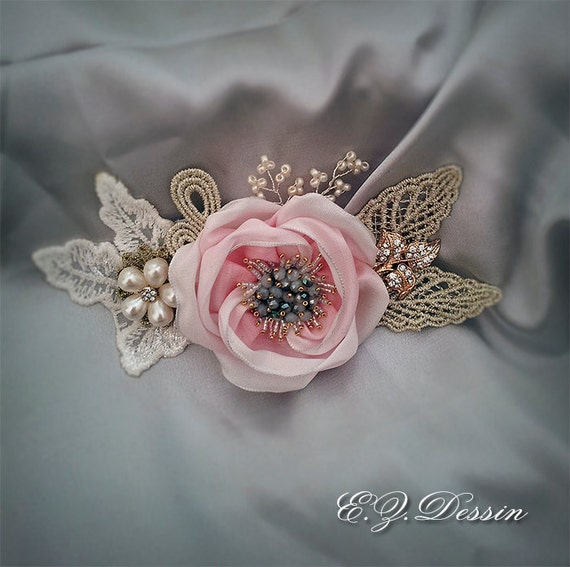 Vintage Flowers Ribbons Tutorial. Create Accessories With