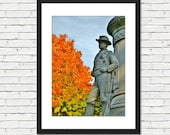 Soldiers and Sailors Monument - Wakefield MA - Photo Art Print