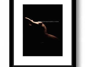 Fine art:  WOMAN, photography,  bedroom decor, color print