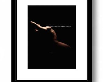 Fine art:  WOMAN, photography,  bedroom decor, color print