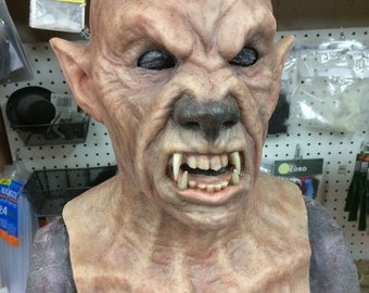 Werewolf - no hair - silicone life like mask