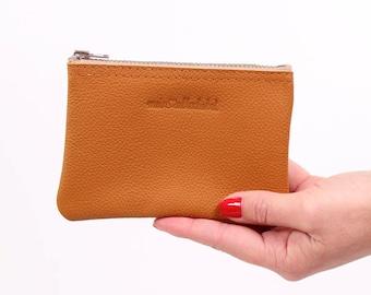 small purse Fran / / cognac leather