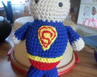 Superman Stuffed Plushie Superhero Toy