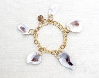 Oyster Charm Bracelet