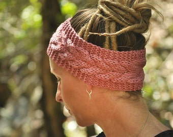 Chunky knit head bands perfect for Dreadlocks