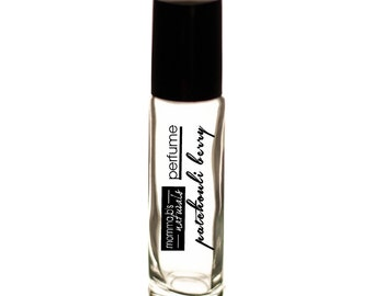 Natural Body Fragrance PATCHOULI BERRY Perfume Cologne Oil 10ML