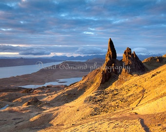 Sun Rise on the Old Man of Storr