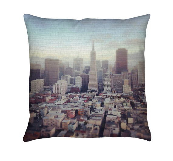 San Francisco Printed Throw Pillow. Cushion Cover Apartment