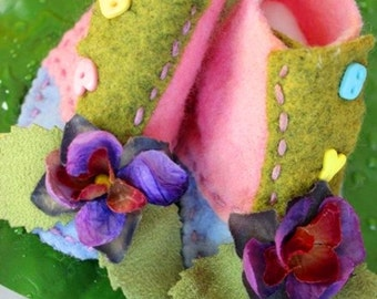 Baby Infant Girl Nature-Born Booties