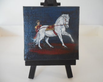 Lippizanner Miniature horse paintings