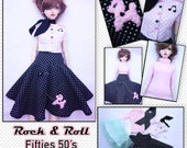 BJD SD 1/3 Rock & Roll Fifties 50's Outfit set