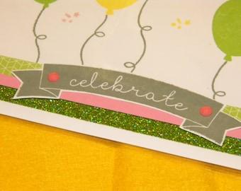 Kaleidescope Card-Celebrate