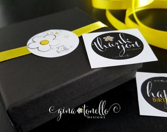 Gift Box with exclusively designed sticker