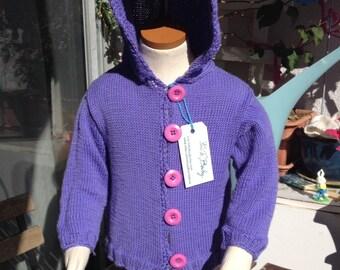 PerTeBaby purple hoodie