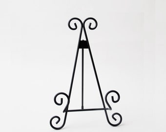 Black Metal Display Easel for Cutting Boards