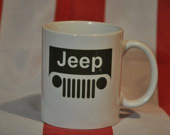 Jeep mug for american car fans