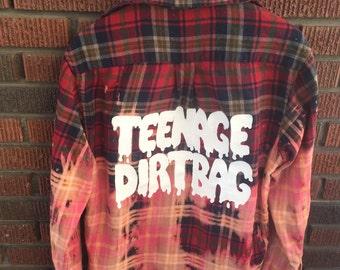 Teenage Dirtbag Flannel