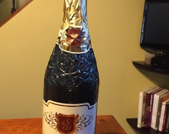 Chocolate Champagne Bottle 14 oz.