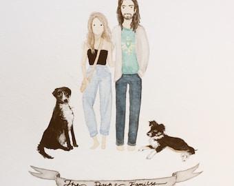Commissioned Couple Portrait