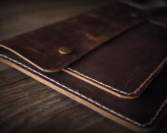 Top iPad Mini Sleeve, Distressed leather Galaxy Tab S Sleeve Covers for iPad Mini, Nexus, Galaxy Tab S A E, Custom Tablet Sleeve