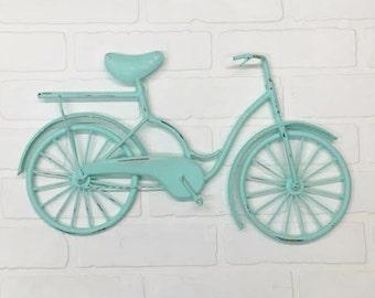 Bicycle Wall Art/ Wall Decor/Bicycle/Beach Decor/Bicycle Decor/Cycling/ Bike/SSLID0170/Wall Hanging/Gift Idea/Beach Bike/ Housewarming Gift