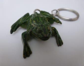 Vintage Frog Keychain (16046)
