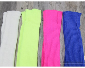 Women Knitted Leg Warmers Boot Toppers