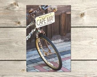 Bike Art Photography, Bicycle Art, Bicycle Wall Art, Cycling Gifts, Cycling Art, Cape May NJ Art Prints
