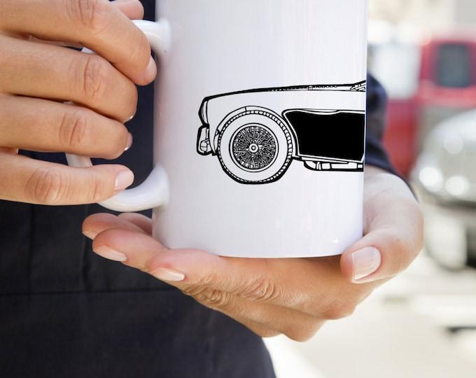 KillerBeeMoto:   U.S. Made Coffee Mug Limited Release Vintage British Sports Car