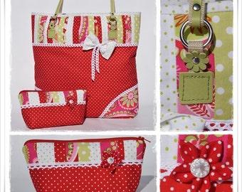 Sewing Pattern Crafty Bag Romantica