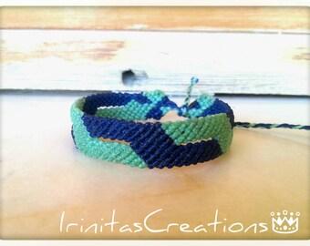 Macrame bracelet/men's bracelet/friendship bracelet/surf/μακραμε ανδρικό βραχιόλι