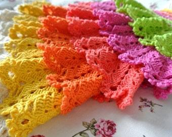 Summer Dress Crochet Pattern, Crochet Ruffles Dress