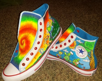 Grateful Dead Custom Shoes
