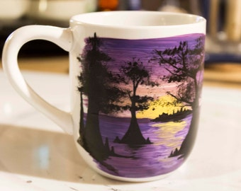 Swamp Scene 10 oz. Coffee Mug