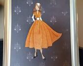 "RESERVE for PATTIANN - Julie Nutting ""Rita"" Prima Doll Paper Embellishment"
