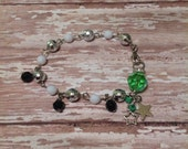 Stars Victory Green Up-Cycled Bracelet