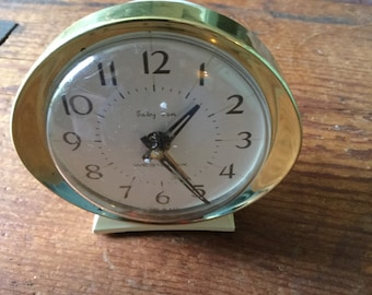 Vintage Baby Ben wind up alarm clock