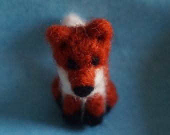 Cute Needle Felt Fox