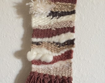 Long and Skinny Earthy Wall Hanging