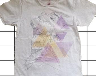 SALE! Shirt with geometric print