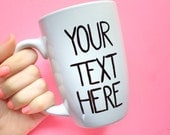 Personalized Gift for Her // Gifts Under 30 // Custom Coffee Mug // Personalized Mug // Coffee Lover Gift // Gifts for Him // Gifts for Her