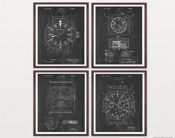 Watch Patent Posters - Watch Art - Rolex Poster - Rolex Watch - Rolex Art - Rolex Wall Art - Time Piece - Wrist Watch - Rolex Patent Art