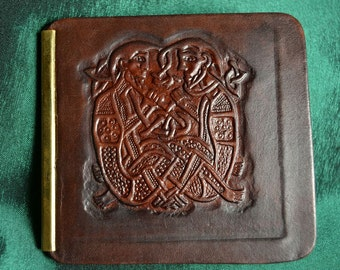 Celtic Book of Kells Money Wallet Leather Purse Money Clip Dollar Wallets Irish Ireland Celts Pagan Lindisfarne Scottish Scotland Art
